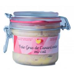 Foie gras de canard entier mi-cuit 190g