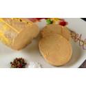 Foie gras de canard cuisiné au torchon