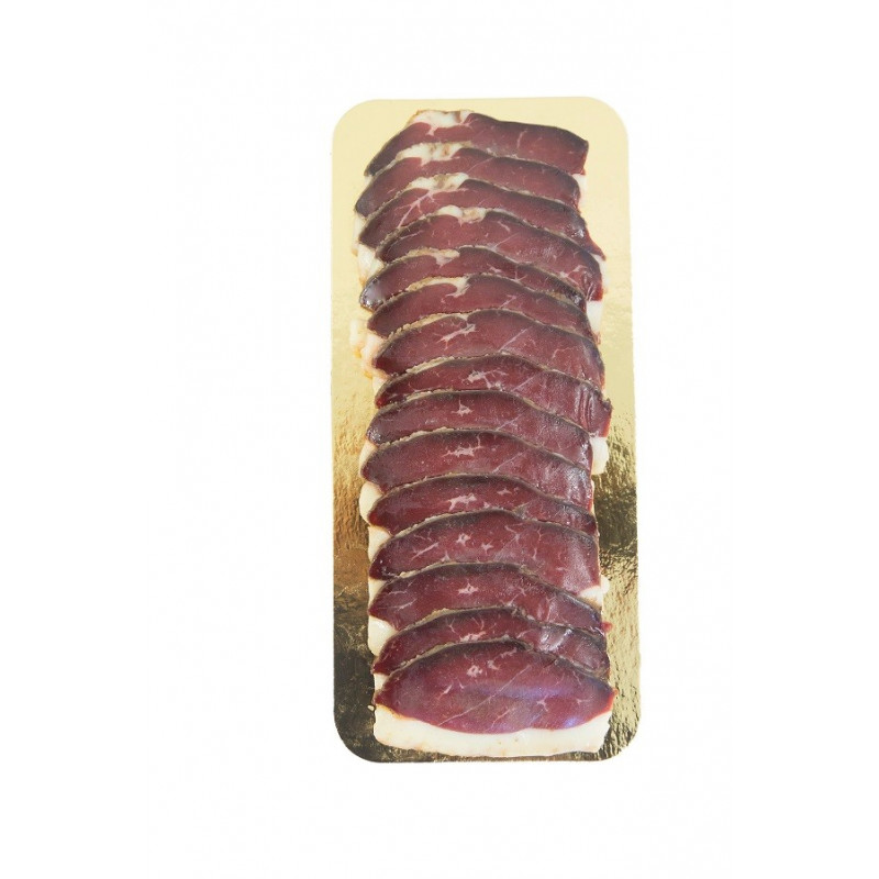 Magret de canard séché fumé Tranché (au bois de hêtre)