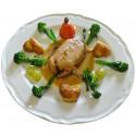 Caille farcie au foie gras de canard