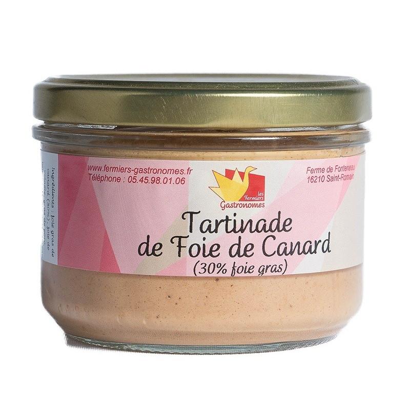 Tartinade de foie de canard