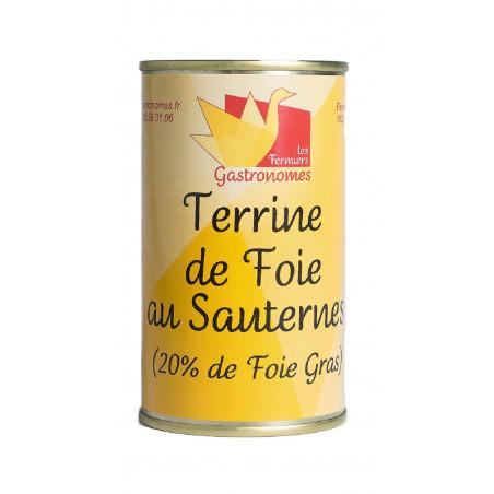 Terrine de foie au Sauternes