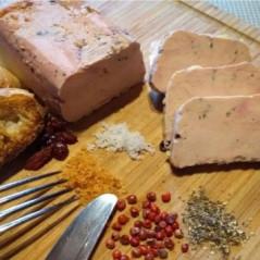 Lingot de Foie Gras Mi-Cuit aux 5 Baies