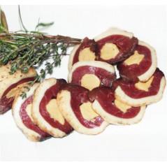 Magret fourré au foie gras de canard