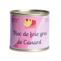 Bloc de foie gras de canard 100g