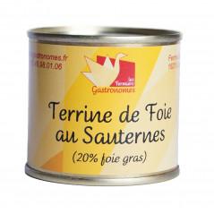 Terrine de foie au Sauternes 100g
