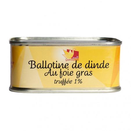 Ballotine de dinde au foie gras