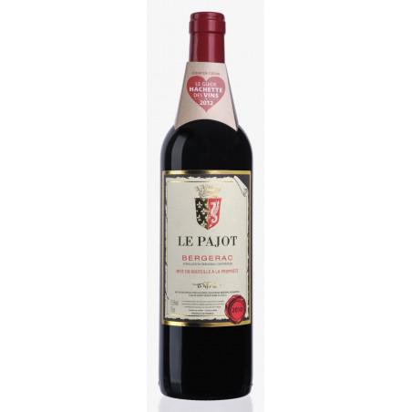 Vin rouge Le Pajot AOC Bergerac - 75cl