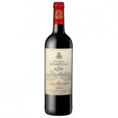 Vin rouge Chapelle La Rose AOC Bordeaux - 75cl