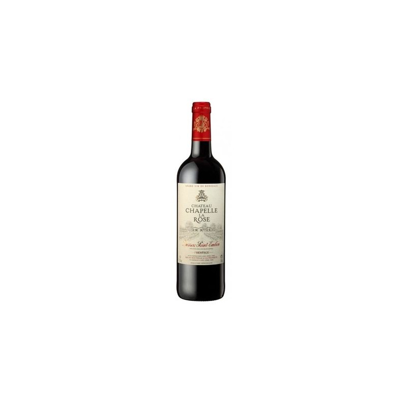 Vin rouge Chapelle La Rose AOC Bordeaux - 75cl