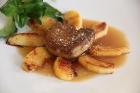 escaloppe foie gras